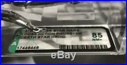 Star Wars Death Star Droid AFA 85 Honk Kong 1978 Vintage Kenner