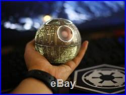 Star Wars Death Star Floating Bluetooth Wireless Speaker Silver