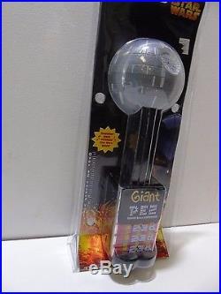 Star Wars Death Star Giant Pez Candy Dispenser (9799-1 #43) AA10
