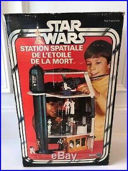Star Wars Death Star Kenner Canada Box Only Very Rare Vintage 1977 Space Station