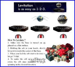 Star Wars Death Star Magnetic Floating Bluetooth Ball Speaker Maglev Levitating