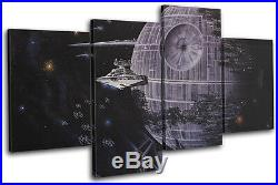 Star Wars Death Star Movie Greats MULTI CANVAS WALL ART Picture Print