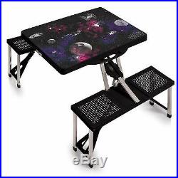 Star Wars Death Star Portable Folding Picnic Table With Seats New In Box