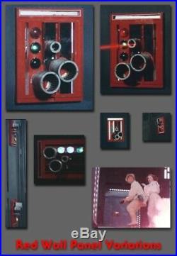 Star Wars Death Star Red Door Panel Prop