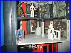 Star Wars Death Star Space Station 1978 WithBox & Action Figures Vintage Kenner