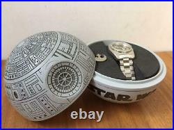 Star Wars Fossil Collectors watch Deathstar Case 20th Anniversary Limited Rare