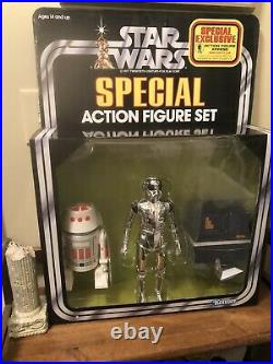 Star Wars Gentle Giant Jumbo Kenner 3 Pack Power Droid Death Star Droid R5D4