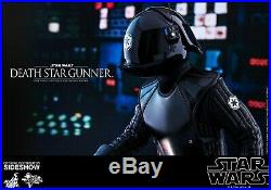 Star Wars Hot Toys 16 A New Hope DEATH STAR GUNNER MMS413 SEALED Shipper NEW
