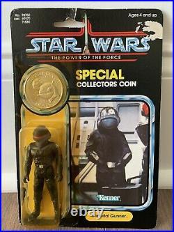 Star Wars Imperial Gunner Potf Moc Kenner Vintage 1984 Rotj Death Star Anh Esb