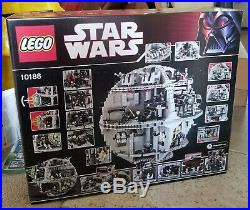 Star Wars Lego 10188 DEATH STAR NEW FACTORY SEALED With SHIPPING BOX