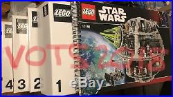 Star Wars Lego Death Star 10188 NO MINIFIGURES / NO BOX Never Built Brand New