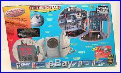Star Wars MICRO MACHINES Action Fleet THE DEATH STAR Set & TIE BOMBER & VIRAGO