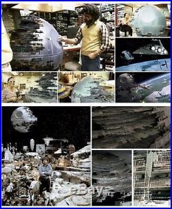 Star Wars Metal Death Star II Piece Production Used Prop COA Return of the Jedi