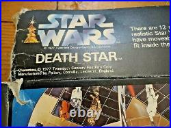 Star Wars Palitoy Vintage Death Star Boxed 1977 in Box Rare Original Playset