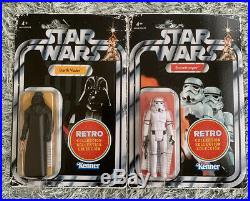 Star Wars Retro Collection Wave 1 Set of 6 & Escape Death Star With Tarkin Fig
