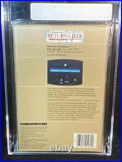 Star Wars Return Of The Jedi Death Star Battle Atari VGA 85+ NM+ Gold Seal
