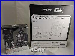Star Wars S. H. Figuarts Darth Vader With Exclusive Base Death Star 2 Bandai
