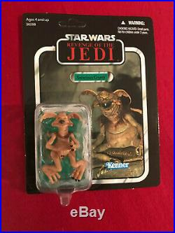 Star Wars SDCC Death Star Exclusive Salacious Crumb VC66 Unpunched MOC