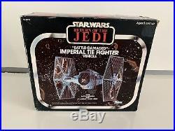 Star Wars Tie Fighter Misb Rotj Vintage Kenner 1983 Death Star Lando Nien Nunb