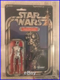 Star Wars Vintage 1979 Death Star Droid 21 Back-A CAS Not AFA 80 (80/80/80)