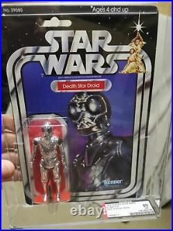 Star Wars Vintage 1979 Kenner 21 Back-A Death Star Droid AFA 80