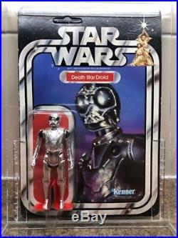 Star Wars Vintage Action Figure Death Star Droid, Kenner 1977, 20-back MOC