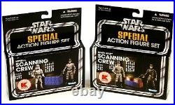 Star Wars Vintage Collection K-mart Exc Death Star & Imperial Scanning Crew Sets
