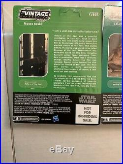 Star Wars Vintage Collection Vc66 & Vc67 Sdcc 2011 Revenge Of The Death Star
