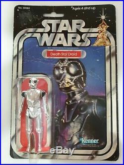 Star Wars Vintage Death Star Droid 21 Back MOC