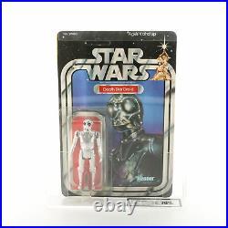 Star Wars Vintage Death Star Droid A New Hope Mint on Card (UKG 70)