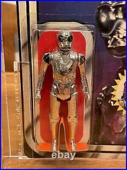 Star Wars Vintage Death Star Droid Afa 80 Archival