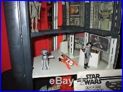 Star Wars Vintage Death Star Playset 1978 Box Action Figure Kenner Collection