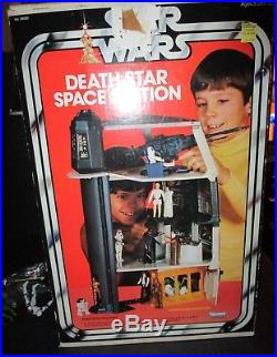 Star Wars Vintage Death Star Playset 1978 Box Action Figure Kenner Collection