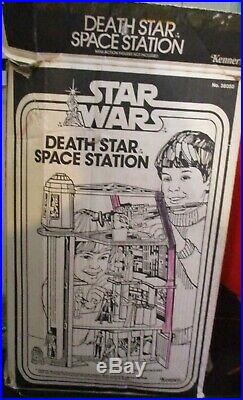Star Wars Vintage Death Star Playset 1978 WithBox & Action Figures Kenner Collecti