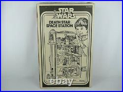 Star Wars Vintage Death Star Space Station 1979 Anh Box With Inserts
