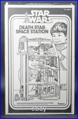 Star Wars Vintage Death Star Space Station MIB