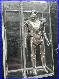 Star Wars Vintage Figur- DEATH STAR DROID UKG 80%