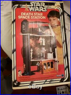 Star Wars Vintage Kenner Death Star Space Station Complete with box