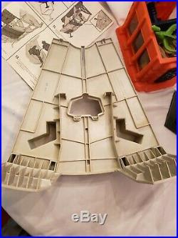 Star Wars Vintage Kenner Death Star Space Station rope monster instructions box