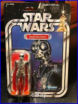Star Wars Vintage MOC (20-Back ANH) Death Star Droid Mint on Card