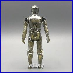 Star Wars Vintage Meccano exclusive Death Star Droid blank raised bar no COO