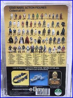 Star Wars Vintage ROTJ DEATH STAR DROID AFA 90 (90/90/90)