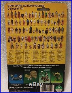Star Wars Vintage ROTJ Death Star Droid MOC Figure 77 Back Authentic Nice
