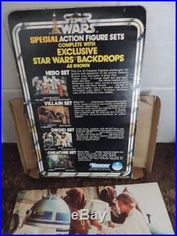Star Wars Vintage TOLTOYS Kenner 3-Pack Droids Set R5D4 Death Star Droid Power D