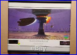 Star Wars Willitts Ralph Mcquarrie Signed Lithograph Death Star Main Reactor Ap2