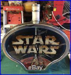 Stars Wars Death Star Slot Machine Topper, Extremely Rare! L@@k + Star Wars Tpr