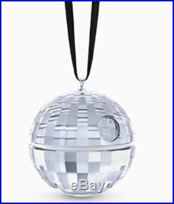 Swarovski Crystal STAR WARS DEATH STAR ORNAMENT DISNEY RARE 5506805 BRAND NEW
