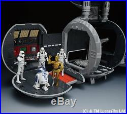 TOMICA Star Wars Diorama Death Star Metal Collection Playset NO FIGURE INCLUDED