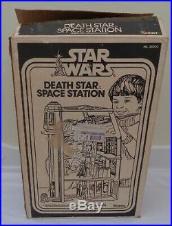 VINTAGE KENNER STAR WARS 1978 DEATH STAR SPACE STATION PLAYSET COMPLETE withBOX