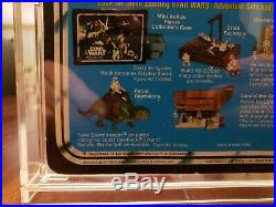 VINTAGE STAR WARS DEATH STAR DROID 21 BACK MOC With ACRYLIC CASE NO REPRO